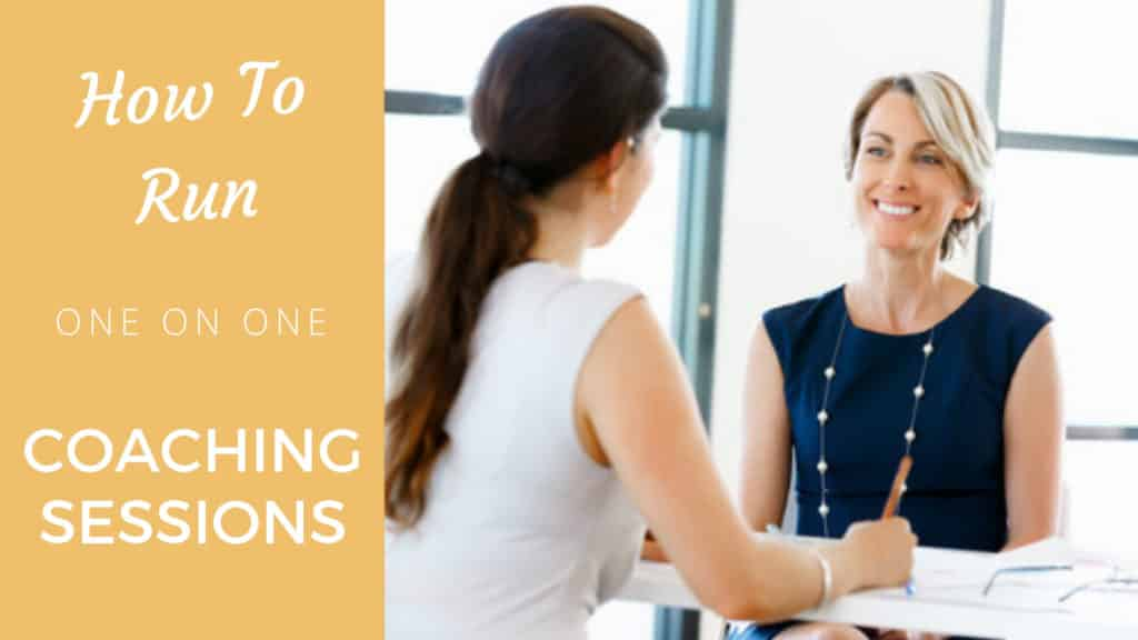 How to Run One-on-One Coaching Sessions one-on-one coach