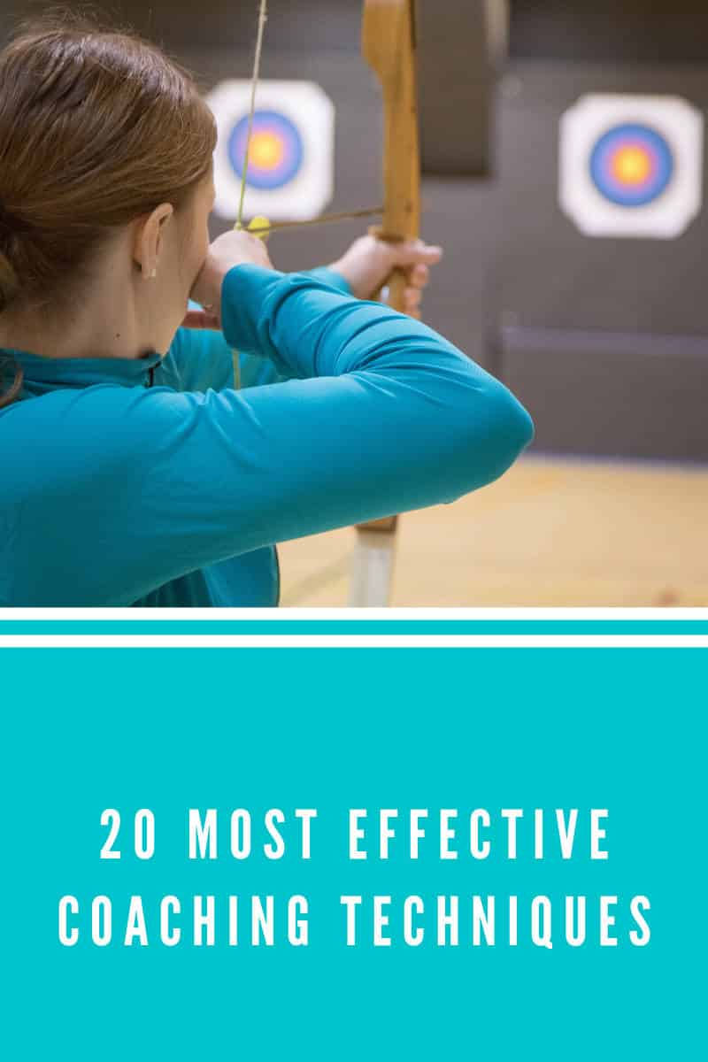 20 Most effective coaching techniques (2020 edition)
