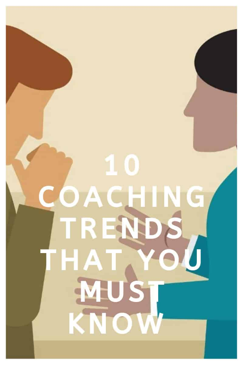 10 Coaching trends that you must know (2020 edition)