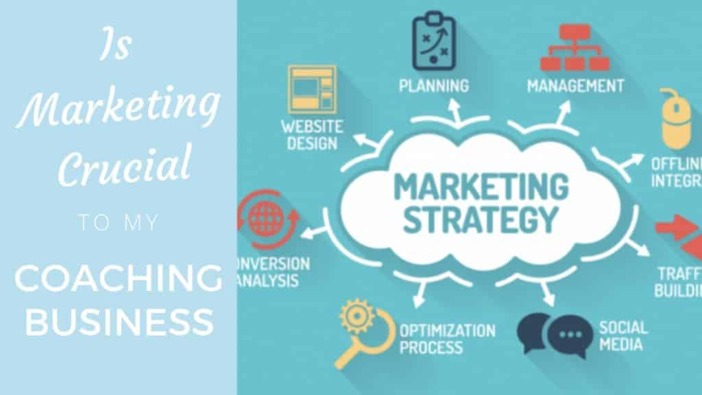 Is marketing crucial to my coaching business?