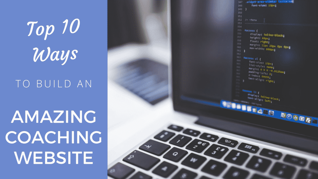 Top 10 Ways To Build An Amazing Coaching Website [ 2019 Edition] Coaching Website