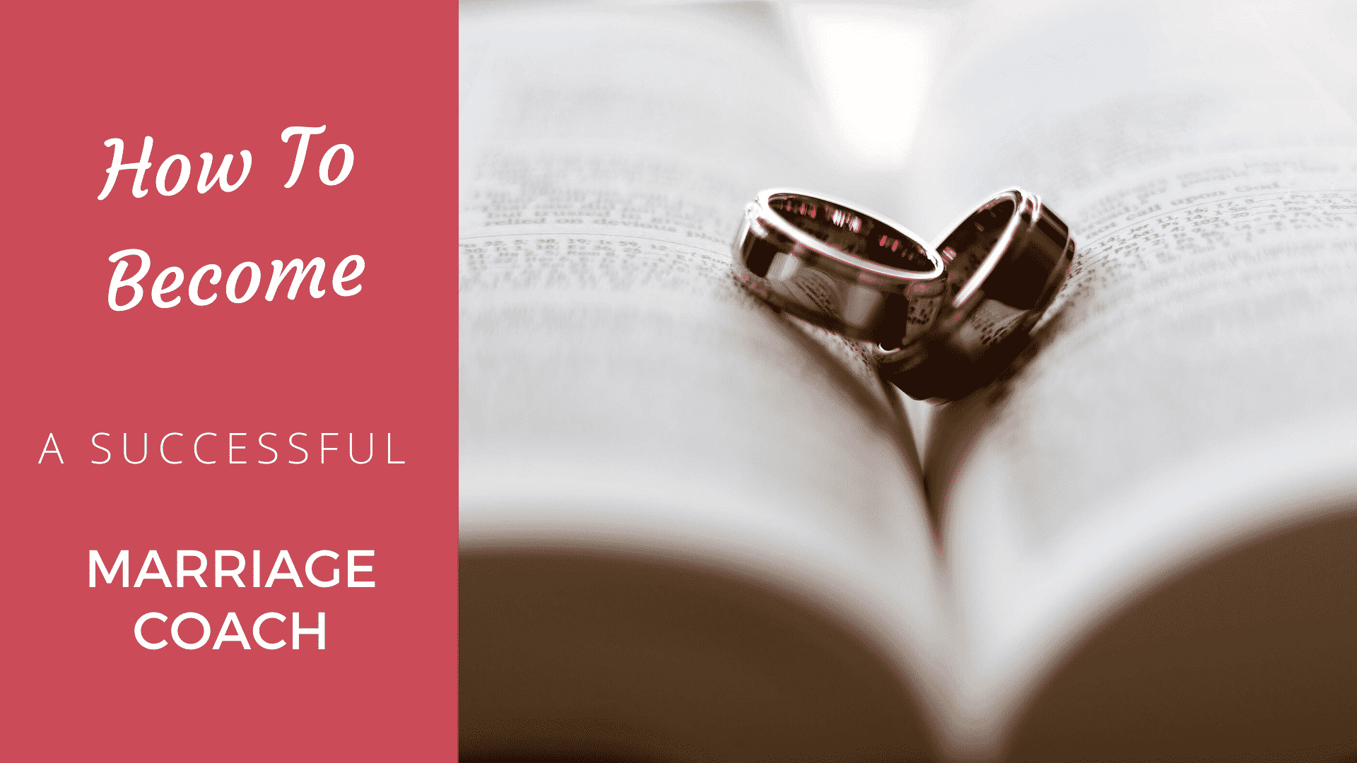 How to Become a Successful Marriage Coach Marriage Coach