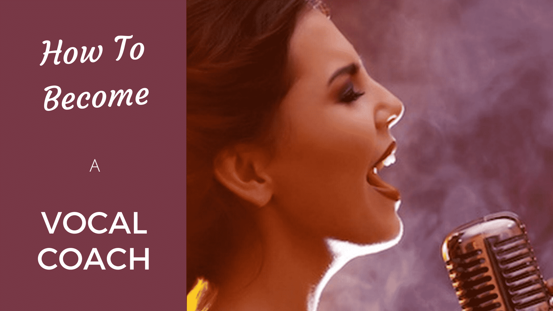 How to Become a Vocal Coach [2020 Edition] vocal coach
