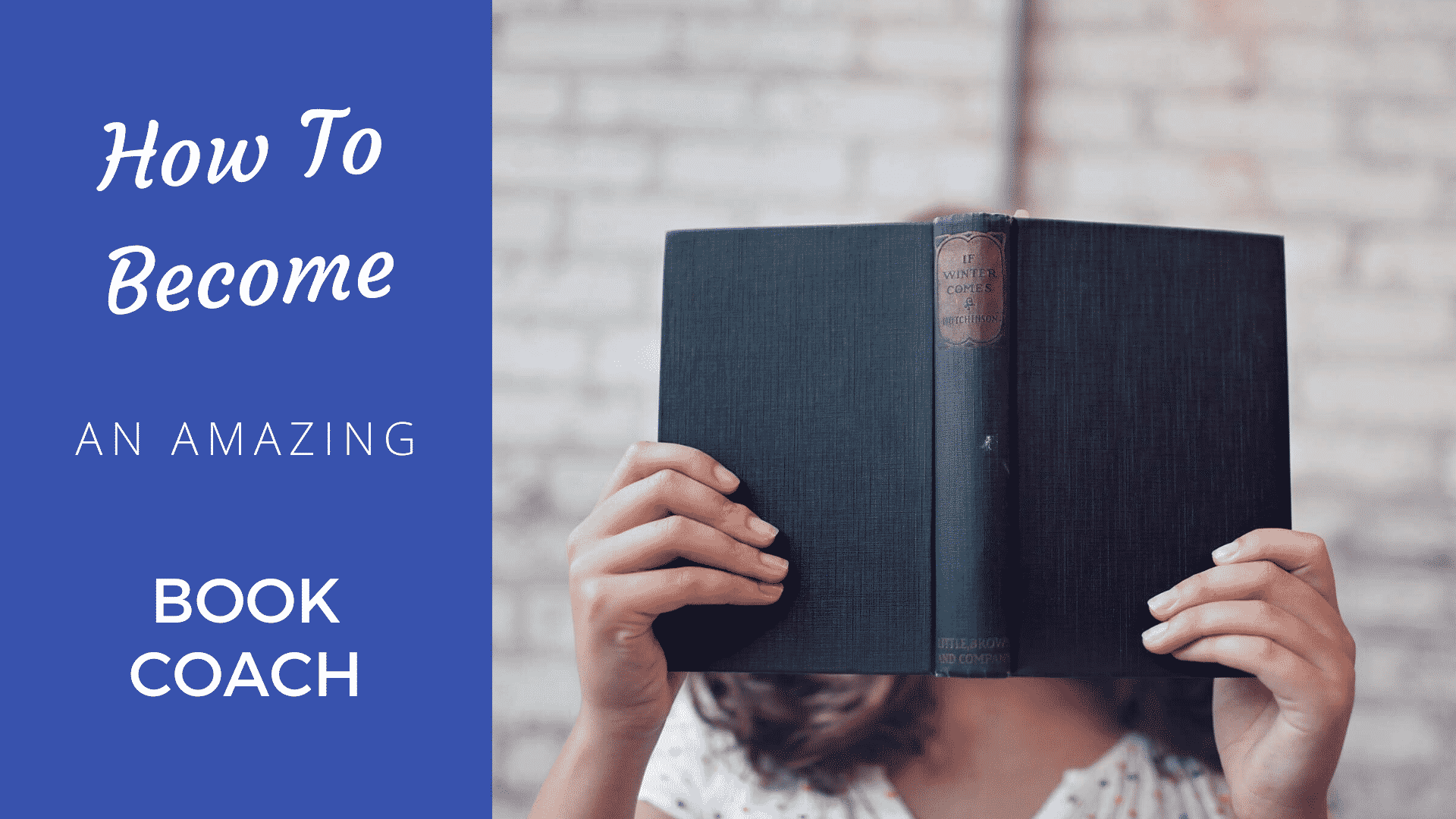 How to Become an Amazing Book Coach in 2021 book coach
