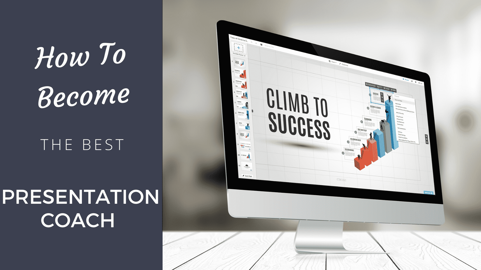 How to Become the Best Presentation Coach [2020] presentation coach