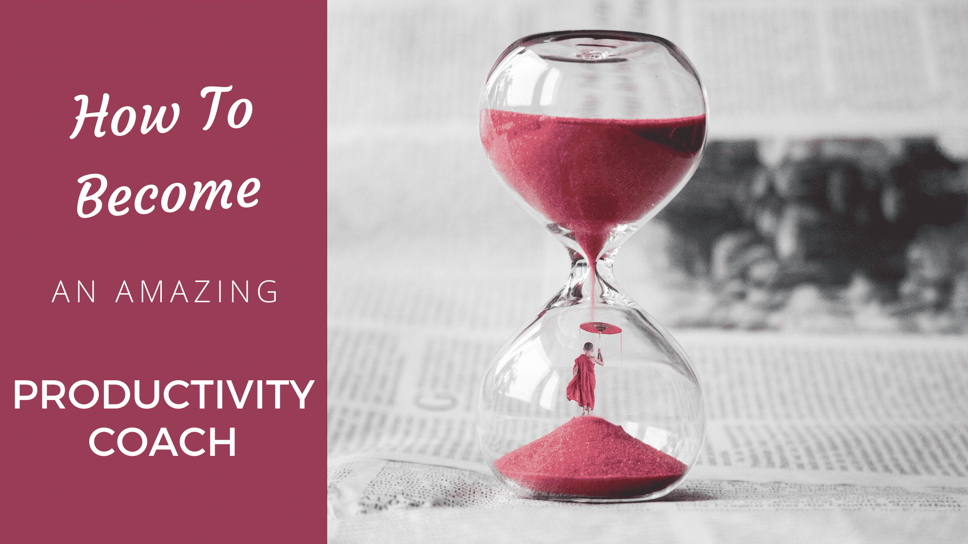 How to Become an Amazing Productivity Coach in 2020? Productivity Coach