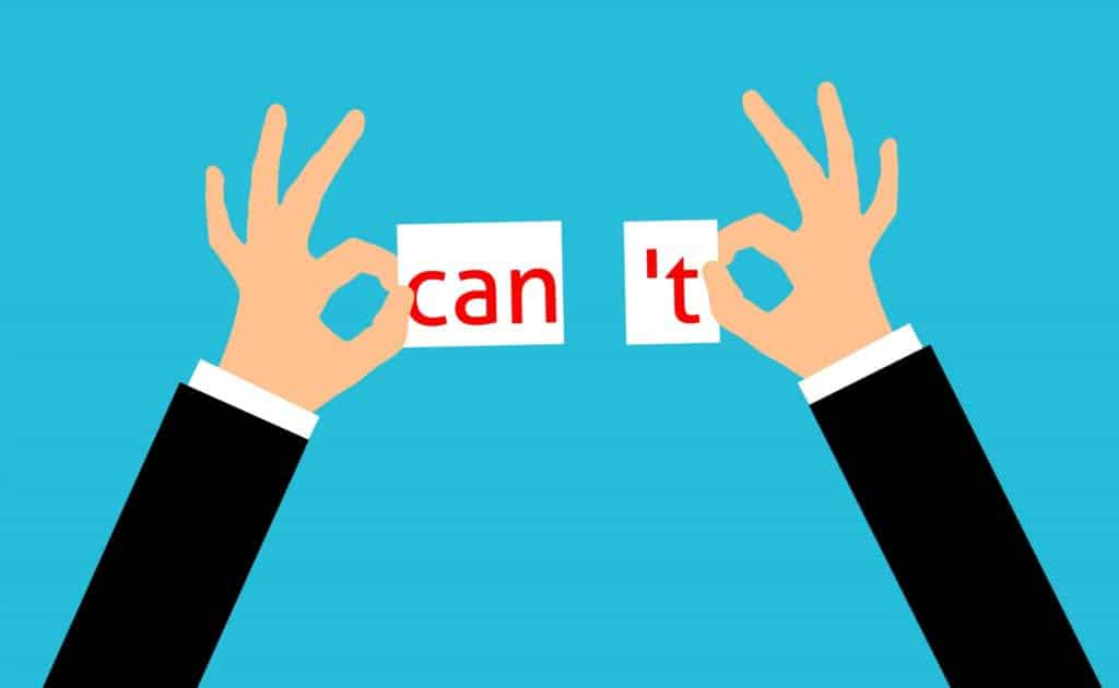 can't, can, motivation