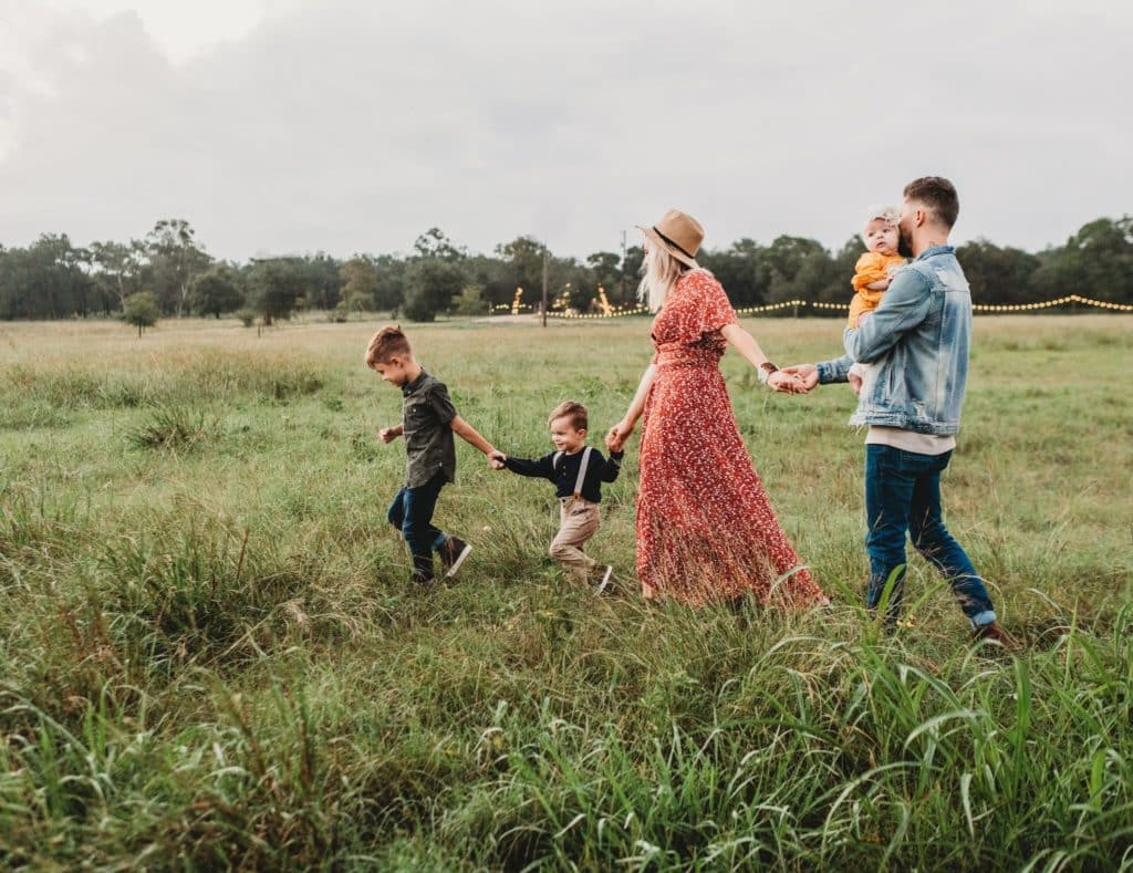 Family Session in Texas Hill Country