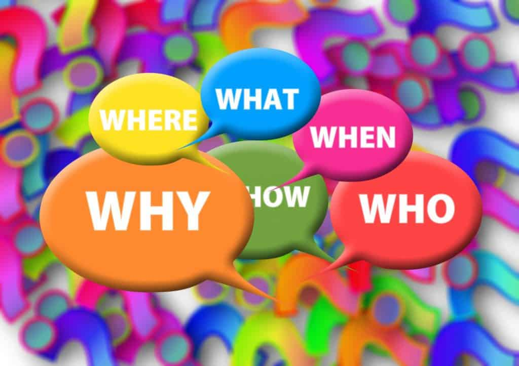 questions, who, what, coaching strategies