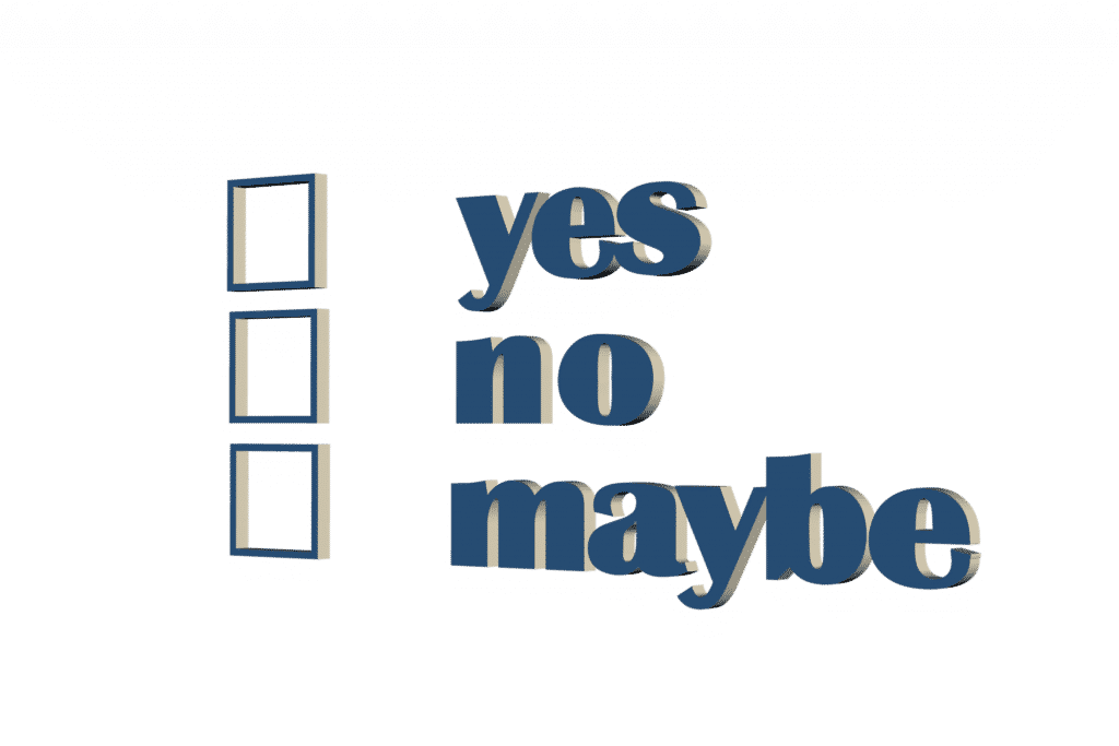 yes, no, maybe, grow coaching model